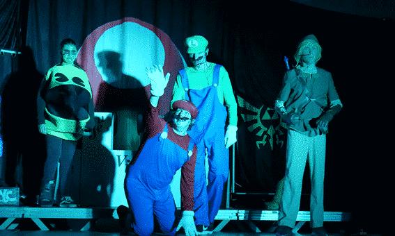 Scène tragique et comique d'un spectacle dans le Var